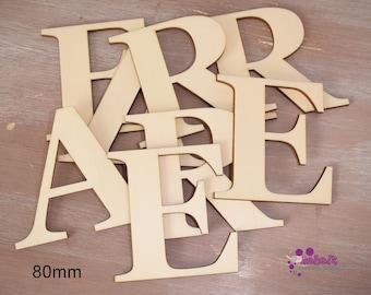 Laser Cut Letters Alphabet numbers