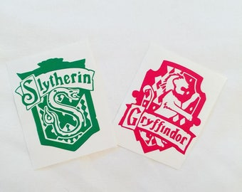 Harry Potter House Crest Decals