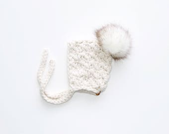 Crochet Gril Pixie Bonnet, Baby Bonnet, Toddler Bonnet, Crochet Bonnet, Crochet Baby Bonnet, Crochet Pixie Bonnet, Girl Bonnet