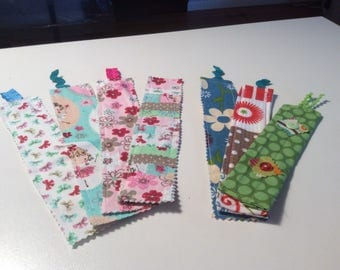 Handmade whimisical bookmarks