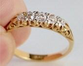Antique 18 carat gold rin...