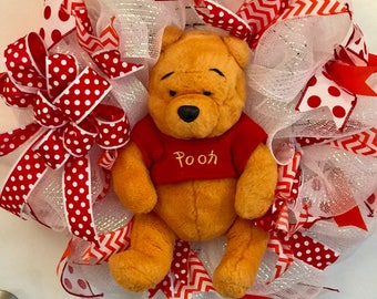 Winnie the Pooh baby wreath