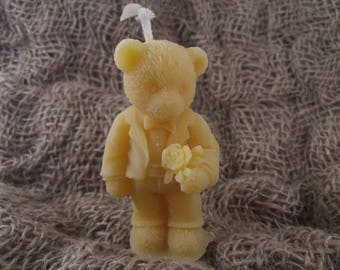 Candle Bear Groom