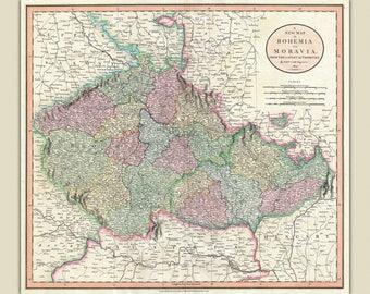 Antique Map Holy Land WBiblical Scenes Die Gelegenheit Des - John wallis map of the us