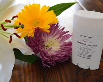 Deodorant Stick - All Natural - Deodorant For Men - Deodorant For Women - Organic