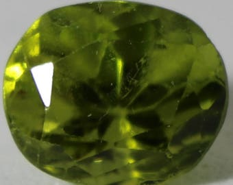 Peridot 3.35ct Reduces Stress,Anger and Guilt