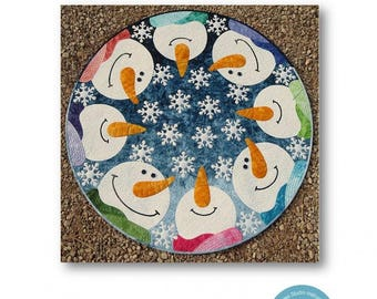 Kisses From Heaven Snowman Quilt Pattern