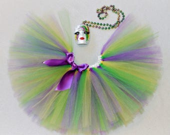 Mardi Gras TuTu Skirt/ Tutu Dress