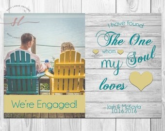 I Found the One My Soul Loves Engagement Announcement// Engagement Announcement// Engaged