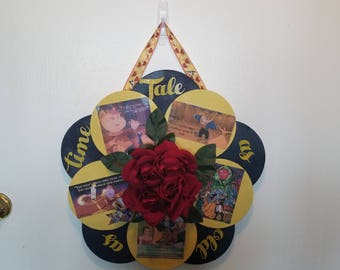Beauty and the Beast Door Wreath