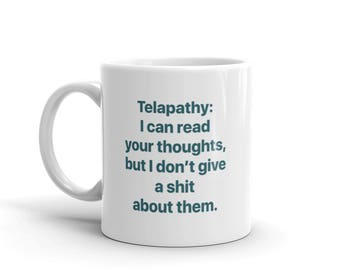 Sarcastic mug / funny mug / sarcastic gift / funny gift // gift for friends / punny gifts