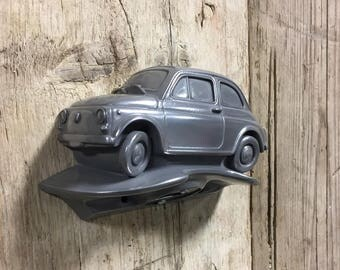 Classic Fiat 500 Bottle Opener Model Pewter Beer Classic BIRTHDAY Coca Cola COKE