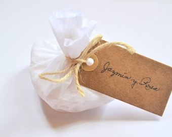 Ecologic jasmine and rose soap