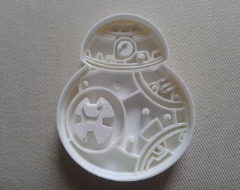 BB8 Star Wars Cookie Cutter 3d Printed ON SALE
