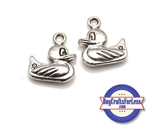 Cute Little DUCKY Spring Charms, 6, 12, 24 pcs  +FREE SHiPPiNG & Discounts*