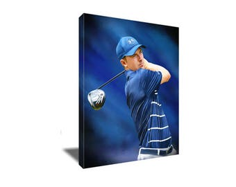 FREE SHIPPING Golf Stud Jordan Spieth Canvas Art