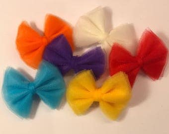YOU PICK TWO Custom Tulle Hair Bows