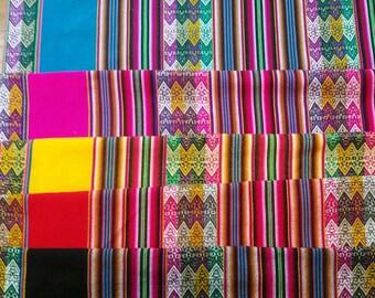 Peruvian fat quarter fabric,quilting thick,ethnic,Cuzco textiles,Soho decor,Inca fabric,Cuzco decor, peruvian textiles, peruvian fabric