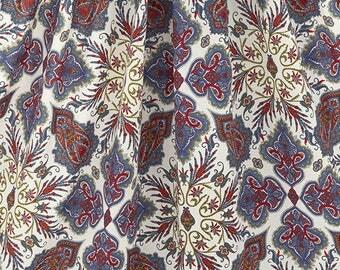 Liberty of London (Cotton Tana Lawn Fabric) - Lord Paisley - 50cm