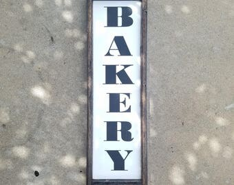 Bakery Sign, kitchen decor, kitchen sign, farmhouse kitchen decor