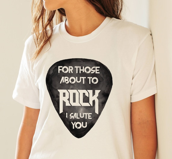 For those about to ROCK! | AC/DC  | Unisex T-shirt | Apparel | Women / Men Clothing | Personalized T-shirt |Graphic Tee | Rock music