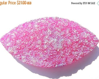 On Sale 1 Pc Huge Size Natural Rubelite Hot Pink Titanium Coated Druzy Marquise Shaped Pendant Size 72X37 MM