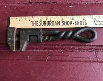 Antique Unmarked 1800s Monkey Wrench