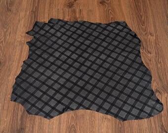 Lambskin leather velvet gray (9256356)