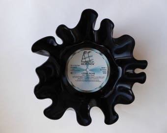 "Lionel Richie ""Can't Slow Down"" Vinyl Record Bowl"