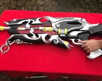 Widowmaker Gun huntress 3D print full paint