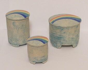 Rainbow jars