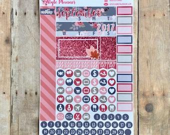 Autumn | September Monthly Kit | SMC Personal Planner