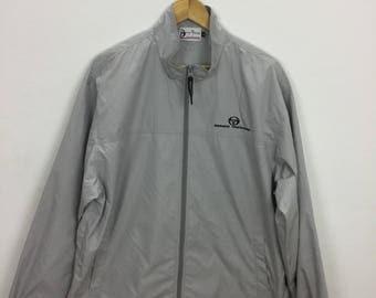 Vintage 90s Sergio Tacchini Windbreaker Jacket Size LL