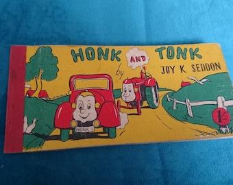 Honk and tonk vintage book
