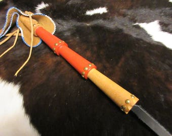 Whip, quirt, wooden horse whip, native american whip