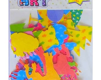 Pack of 70 cuts - Punch Art die-cuts animals scrapbooking creative cardmaking