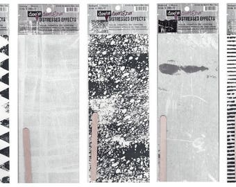 Rub - ons transfers distressed effects scrapbooking Ms. Dee's Designs 31 cm x 10 cm