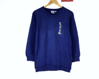 Rare!!! Vintage Fido Dido Sweatshirt Pullover Jumper Sweater