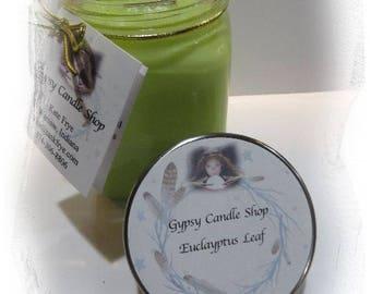 Eucalyptus Leaf Soy Candle