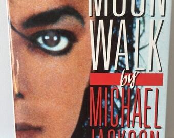 Vintage Michael Jackson singer book biography 1990's, 90's