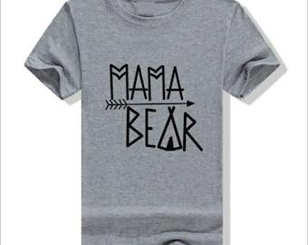 Mamá bear, baby bear, Papa Bear, Tshirts