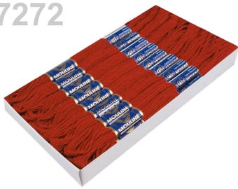 24 Docking Embroidery/stick twist #7272 ginger bread