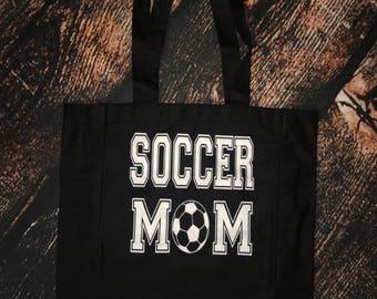 Soccer Mom Reusable Tote bag