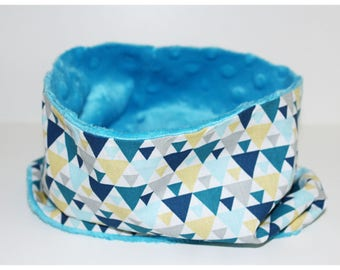 Turquoise baby Snood