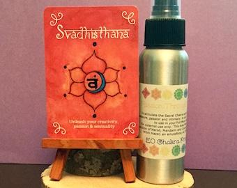 Passion Through Freedom Mist / Mind Body and Spirit / Chakra Balance Spray / Sacral/ Svadhisthana / 2nd Chakra / Pleasure / Energy Healing