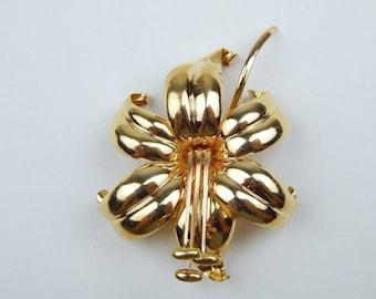 ABJ  18k gold 1946 habicus Swedish brooch #10014