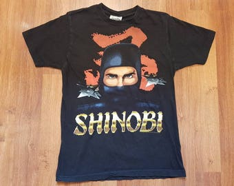 Vintage Shinobi Shirt, Vintage Sega Shirt, Vintage Video Game Shirt