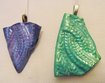 Dragon scale pendants
