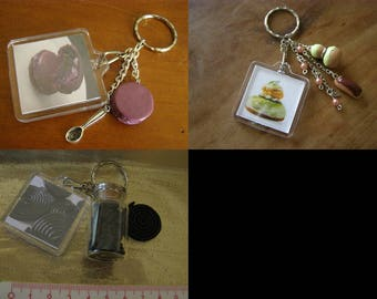 choose Keychain, cake, breads, religious, licorice