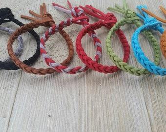 Essential Oil Bracelet Essential Oil Diffuser Bracelet~Women Men Girls Boys~Braided Faux Suede Bracelet Aromatherapy Bracelet